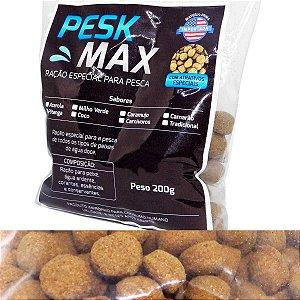 Ração Pesk Max 200gr Peixes água doce