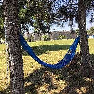 Rede de descanso relax até 150 kg- Azul