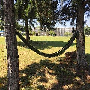 Rede de descanso Relax até 150 kg - Verde Musgo
