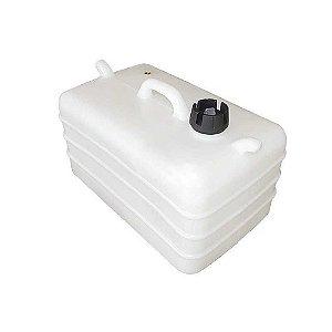Tanque de combustível 28 litros - Branco