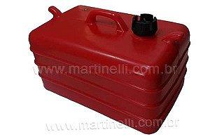 Tanque de combustível 28 litros - Vermelho