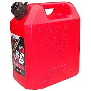 Tanque de Combustível em plastico 10 Litros Vermelho 1341