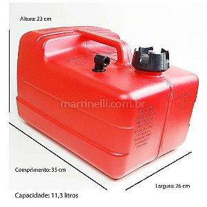 Tanque Gás Marine 12 litros com pescador (Importado)