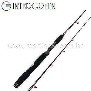 Vara Intergreen Rubi - 12-30lbs - 1,82m - RBS60H-2 - (molinete) - (duas partes)