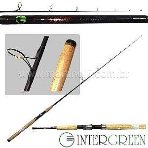 Vara Intergreen Tiger Power - 15-40lbs - 1,98m - TPS 66XH-2 - (molinete) - (duas partes)