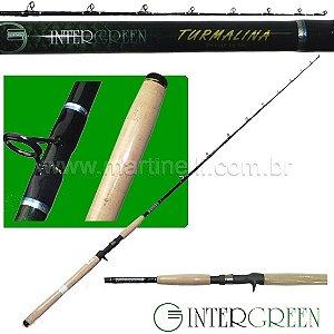 Vara Intergreen Turmalina - 18-40lbs - 1,90m - TMC63XH-1 - (carretilha)