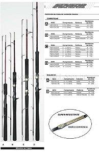 Vara Marine Sports Sensor SER-S602M - 8-17 lb - (1,83m) (molinete) (2 partes)