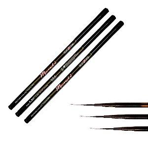 Kit 1X Vara Maruri Telesc Mandi 3,00m + 1X 3,60m + 1X 4,00m
