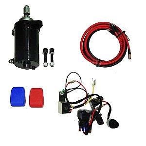 Kit de Partida Elétrica para Johnson/Evinrude 25/30 HP - 2T
