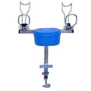 Suporte 2 varas Regulável Horizontal/Vertical Batelão
