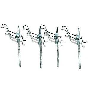 4 Suporte para vara barranco com regulagem tamanho G