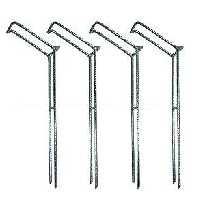 4 Suporte para vara barranco fixo tamanho G