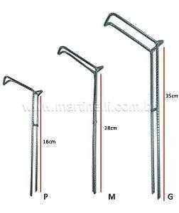 Suporte para vara barranco fixo tamanho P