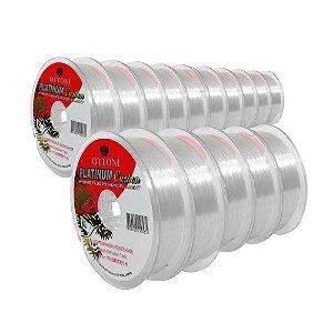 10X Linha Platinum Fluorcarb Leader 0,30mm e 5X 0,40mm 100m