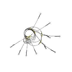 Kit 2 Chicote 2 p/ 4 anzóis - Aprazível