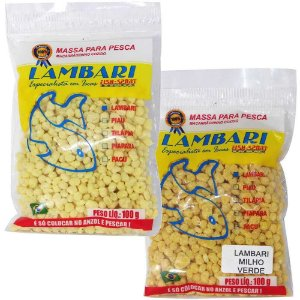 Kit Massa Lambari Milho Verde 100g + Massa Lambari Natural