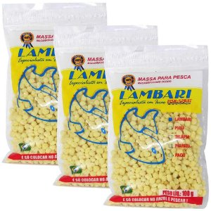 3 Massa Lambari Natural 100g