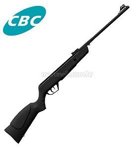 Carabina de pressão CBC JADE - cor Preta - Cal 5.5mm