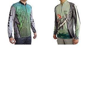 Kit Camiseta MTK Atack Z Tucuna GG + MTK Atack Z Pirarara GG