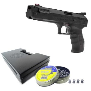 Pistola de pressão Beeman P17 5,5mm+ Maleta+ Chumbo Rossi