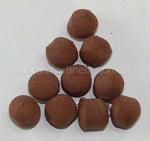 Flutuador Bolinha Chocolate 342 com 10 Unid Miramar