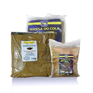 Kit Massa Japonesa 1Kg+Massa pesca Do Cola para tilapia