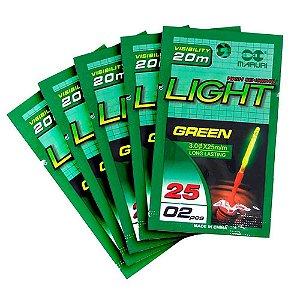 5 Luz Química Maruri 3.0 x 25mm pacote com 2 un.