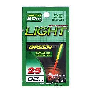 Luz Química Maruri 3.0 x 25mm pacote com 2 un.