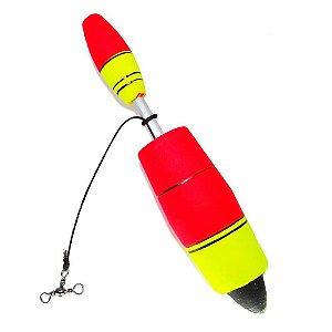 Boia de pesca Aguape Torpedo N4 50g - Ref. 539