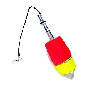 Boia de pesca Aguape Torpedo N2 20g - Ref. 537