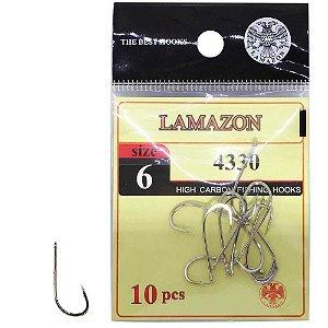 Anzol Lamazon 4330 N 06 c/ 10 un.