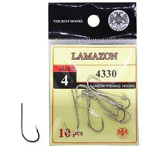 Anzol Lamazon 4330 N 04 c/ 10 un.