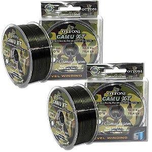Linha MonoCamu XT 0,35mm - 270me0,60mm - 100m - 43,5Kg BOX