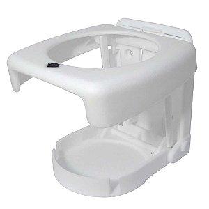 Porta copos dobrável Branco, ideal para sua embarcação