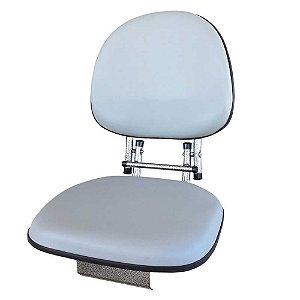 Poltrona Cadeira Pro Estofada giratória dobrável