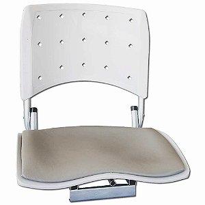 Cadeira Narciso G p/ pesca c/ Estofado Cinza 0312