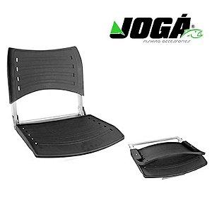 Cadeira giratória Jogá dobrável p/ barco alumínio Plus super resistente