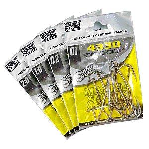 Kit Anzol Marine Sports 4330 - 02 + 01 + 1/0 + 2/0