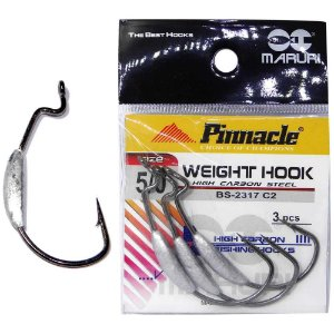 Anzol Pinnacle Weight c/ Chumbo N. 5/0 c/ 3 un.