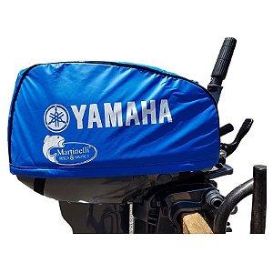 Capa de capo para motor Yamaha 15 HP GMHS - mod. Novo