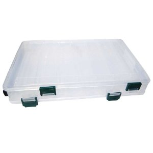 Estojo Duplo Joga p/ isca Bait Box Hs 319  14 compartimentos