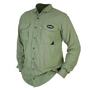 Camisa MTK Sky manga longa UVA e UVB Tam: M Cor: verde