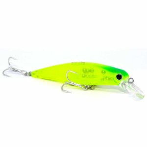 Isca artificial Yara Top Minnow 7,5cm 7,8gr cor 09 verde