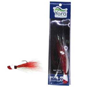 Isca artificial Yara Killer Jig 10g cor: 13 cabeça vermelha