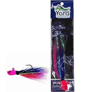 Isca artificial Yara Killer Jig 10g cor: 44 azul e rosa
