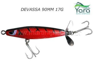 Isca artificial Yara Devassa 90mm 17G cor 02 - Hallowen