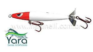 Isca artificial Yara Devassa 140mm 35gr Cor: Cabeça Vermelha