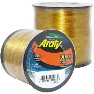 Linha Araty Ultra Ouro 0,60mm 350m