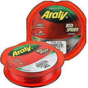 Linha Araty Red Spider 0,35mm - 300M