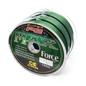 Linha Multifilamento Maruri Max Force 4x - 0,23mm 35lb - 300m contínuos